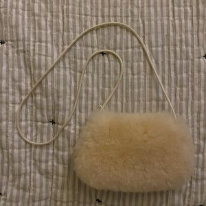 Vintage Sheepskin Mini Bag